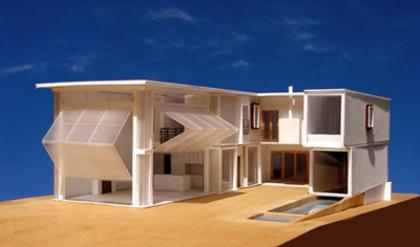 Demaria design eco industrial house recycle reuse homes for Beach box house plans